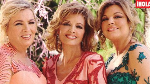Los vestidos de las Campos, los grandes protagonistas de la boda de Rociito