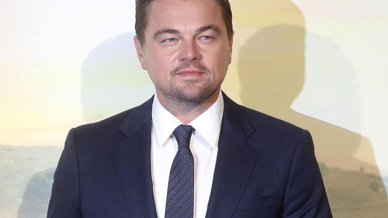 Leonardo DiCaprio, durante un estreno de cine en Roma. (EFE)