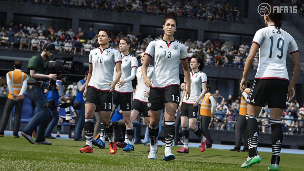 FIFA 16 tendrá por primera vez selecciones femeninas
