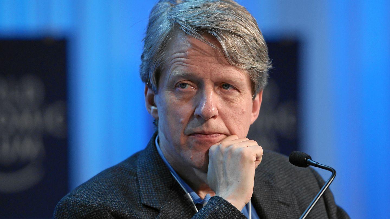 Robert J. Shiller en el Foro Económico Mundial de Davos, en enero de 2012. (CC/Moritz Hager)