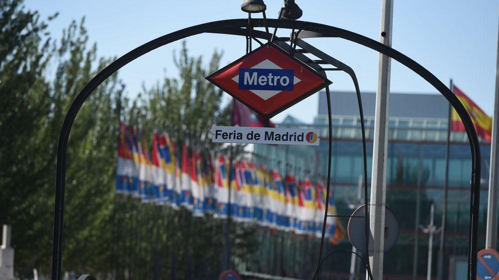 Foto: Metro de Feria de Madrid cerca de Campo de las Naciones. (EFE)