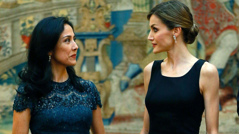 Foto: El Pardo se viste de gala para la recepción del presidente de Perú en honor a los Reyes Felipe y Letizia