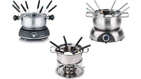 Las 'fondues' más adecuadas para preparar carnes, quesos y chocolates