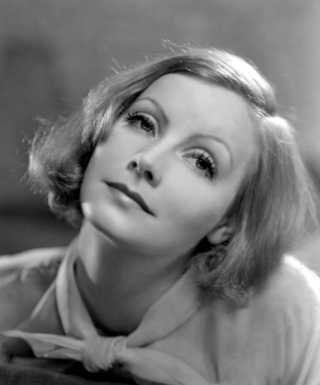 Foto: Greta Garbo posando para MGM