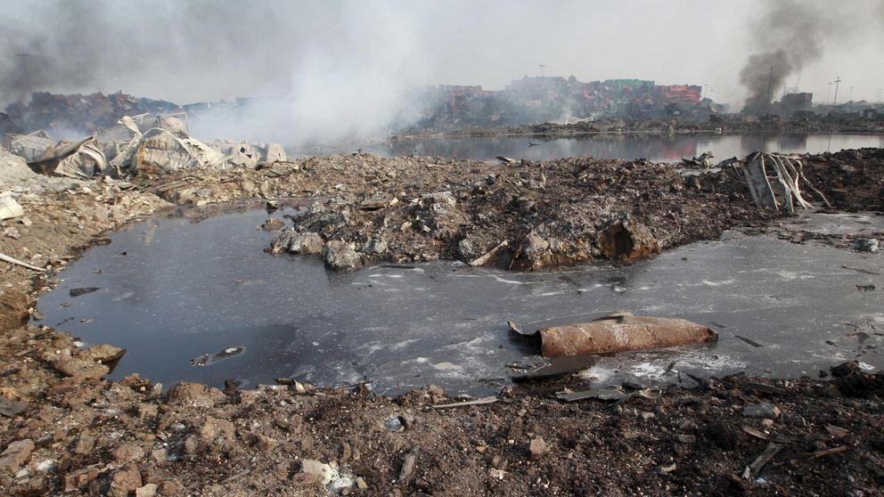 Detectan trazas de cianuro de sodio en las aguas cerca del puerto de Tianjin