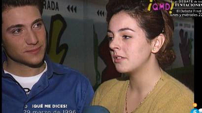 Imagen de archivo de Rocío Carrasco y Antonio David mostrada por el programa.