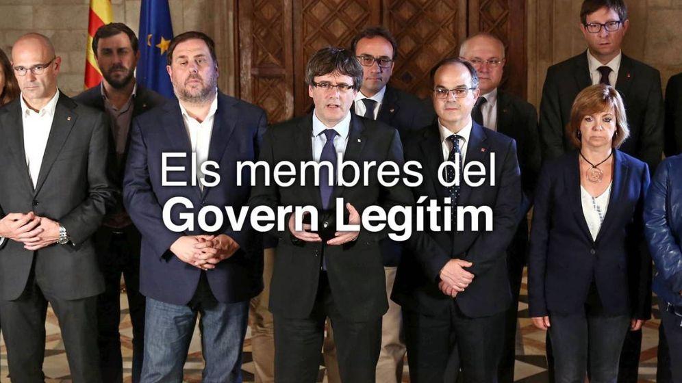 Foto: El Govern sin Santi Vila.