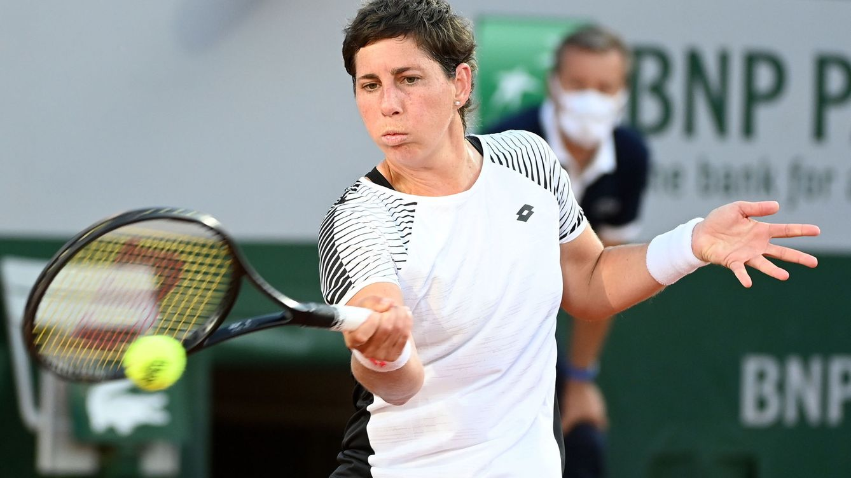 Carla Suárez cae con honores en Roland Garros nueve meses después de anunciar su cáncer