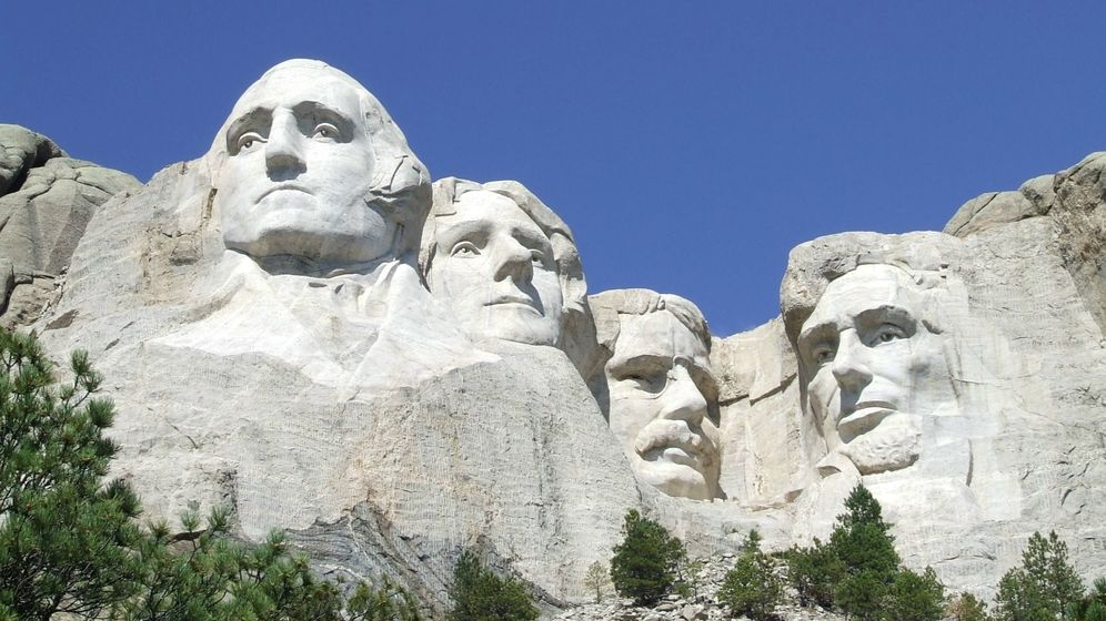Foto: El Monumento Nacional Monte Rushmore. (Reuters)