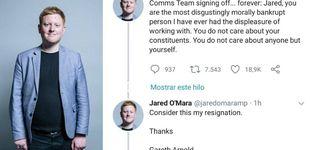 Post de  Un 'mic drop' épico: el jefe de prensa de un político 'secuestró' su Twitter para dimitir