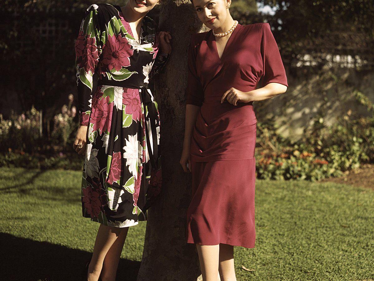 Foto: Olivia de Havilland y Joan Fontaine, en los años 40. (Cordon Press)