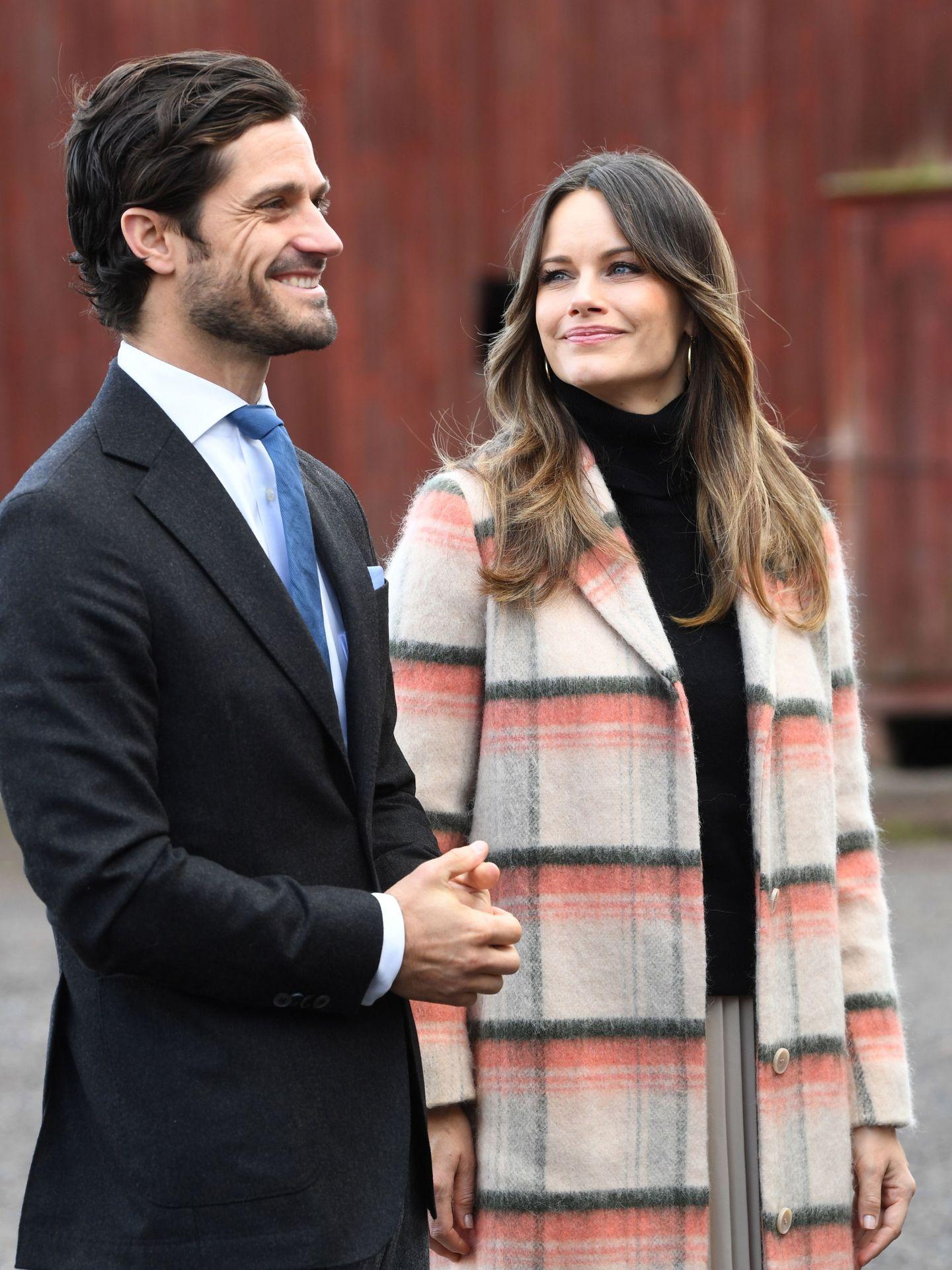 Carlos Felipe y Sofía. (EFE)