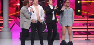 Post de Àngel Llàcer y Miki Nadal se desnudan con un striptease en 'TCNMST'