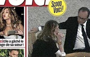 Hollande y Julie Gayet, 'pillados' juntos en el interior del Elíseo