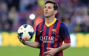 Un Messi de récord asegura que quiere acabar su carrera en el Barça