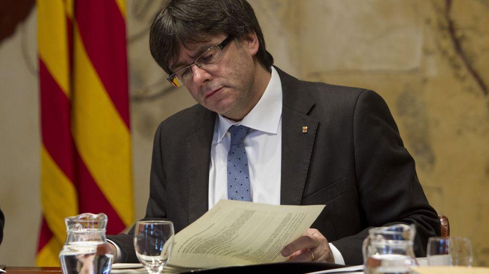 Foto: El presidente de la Generalitat de Cataluña, Carles Puigdemont, en una imagen de archivo. (Efe)