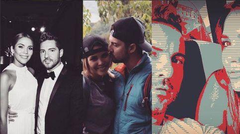 Las fotos más amorosas de David Bisbal y Rosanna Zanetti