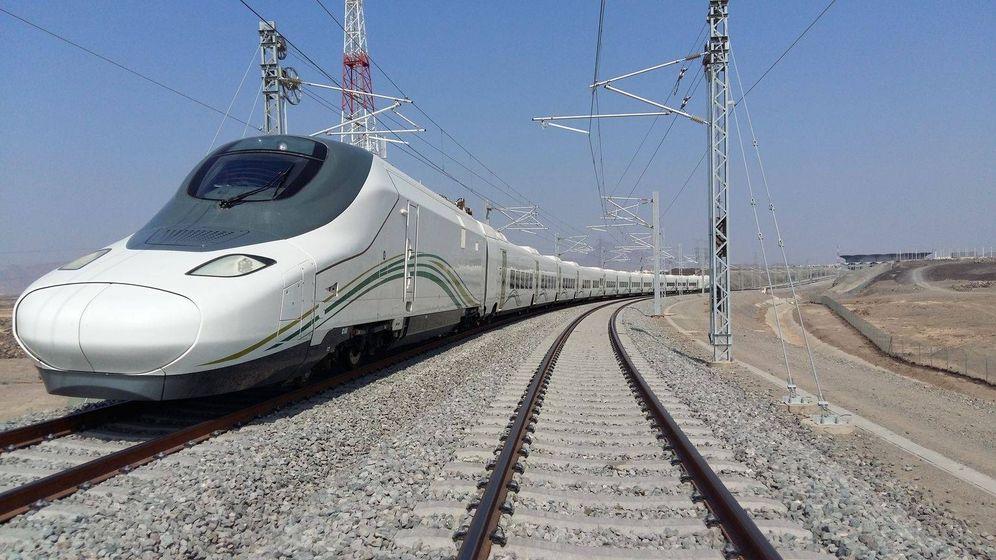 Foto: Un tren del AVE a La Meca. (EC)