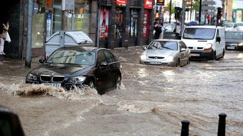 Siguen las tormentas: garajes inundados, calles anegadas y ovejas muertas por granizo