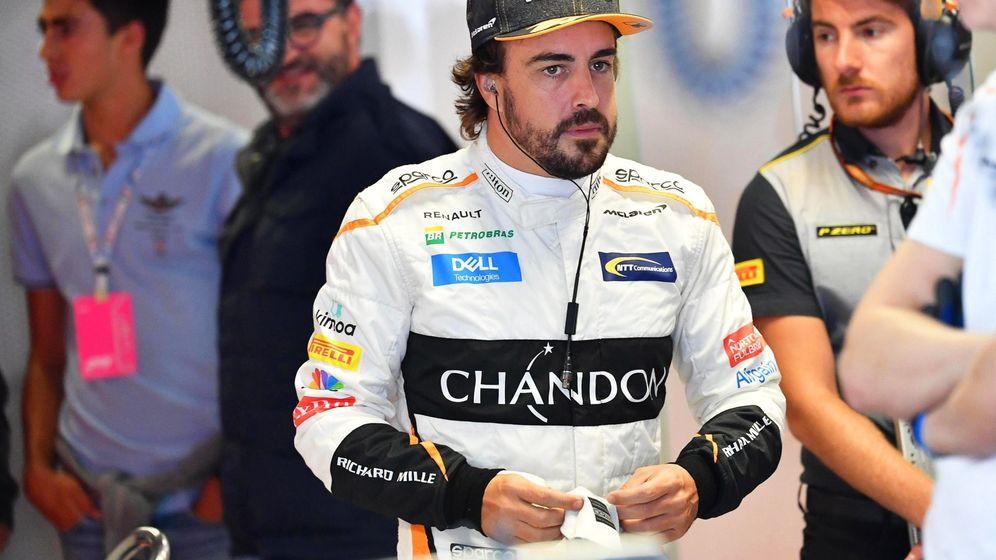 Foto: La primera jornada del Gran Premio de Italia confirmó que será un fin de semana complicado para McLaren. (EFE)