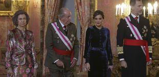Post de Felipe VI, Letizia, Juan Carlos I y Sofía: Póquer de reyes en la Pascua Militar