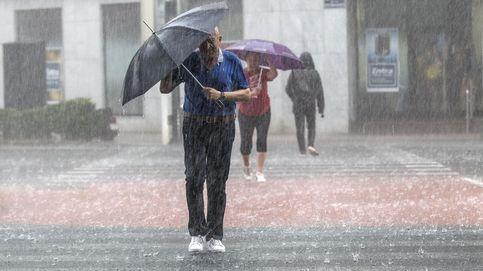 Lluvias y tormentas en Castilla-La Mancha, Aragón, Valencia y Cataluña