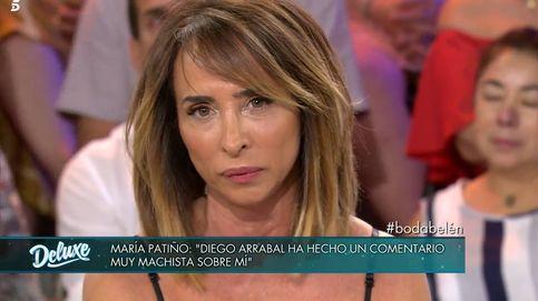 María Patiño, sin piedad contra Diego Arrabal por su comentario machista