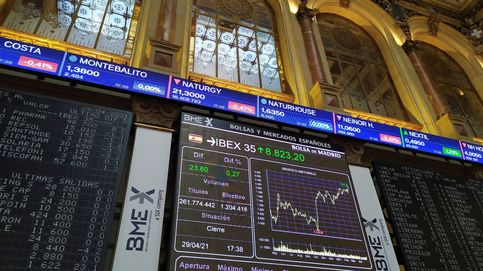 El Ibex sube un 2,28% en abril con el empuje de la banca y lleva tres meses al alza