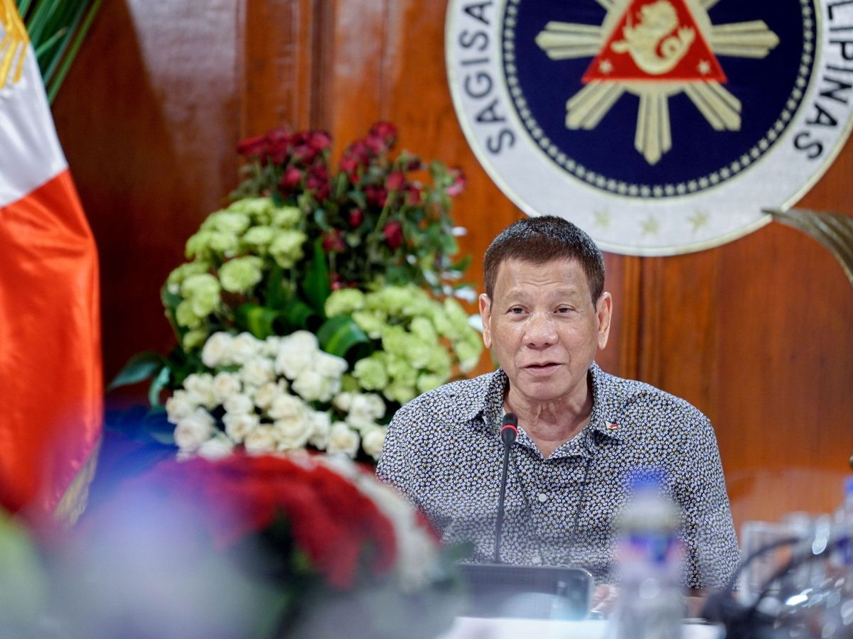 Foto: El presidente Rodrigo Duterte. (EFE)