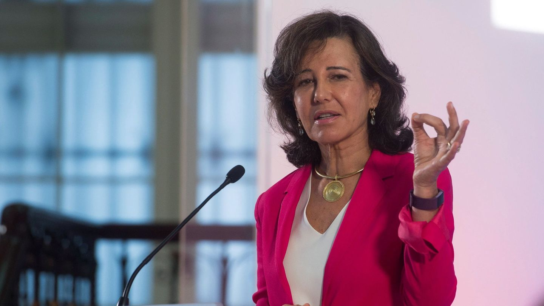 La presidenta de Banco Santander, Ana Botín. (EFE)