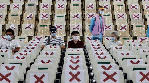 Vacunación masiva en  Nuevo Taipei