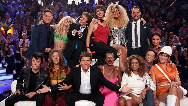 Foto: Foto de grupo de la segunda gala de 'Tu cara me suena' (José Irun)