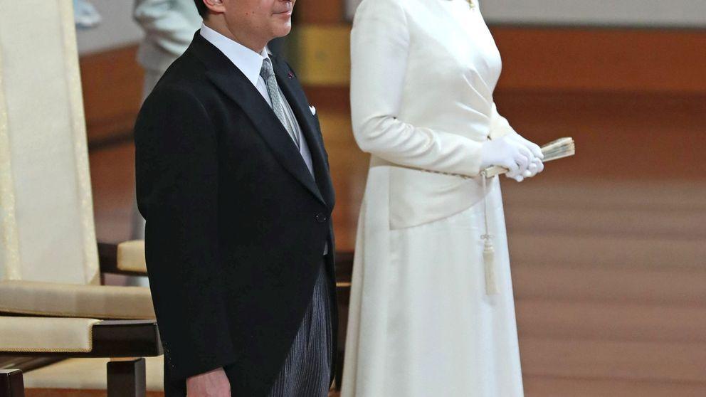 Naruhito y Masako: ceremonia de sucesión breve y sin presencia femenina