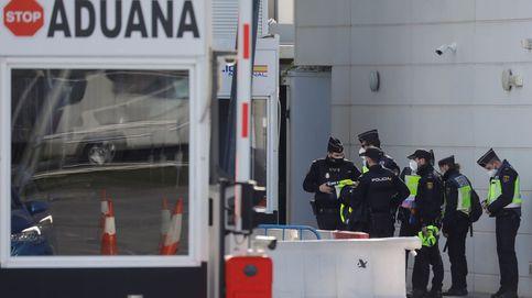 Gibraltar detiene a un español y un portugués con 825 kilos de hachís