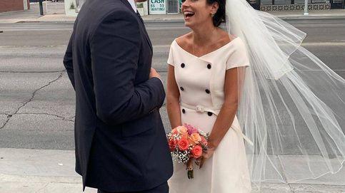 Lily Allen y David Harbour se han casado en Las Vegas: su original vestido de novia
