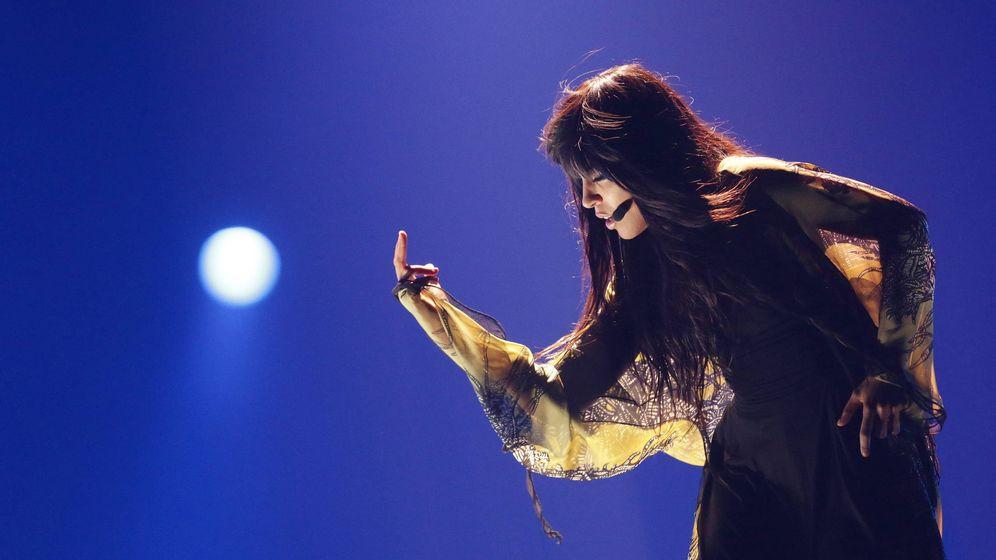 Foto: Loreen en la final de Eurovisión 2012. (Efe)
