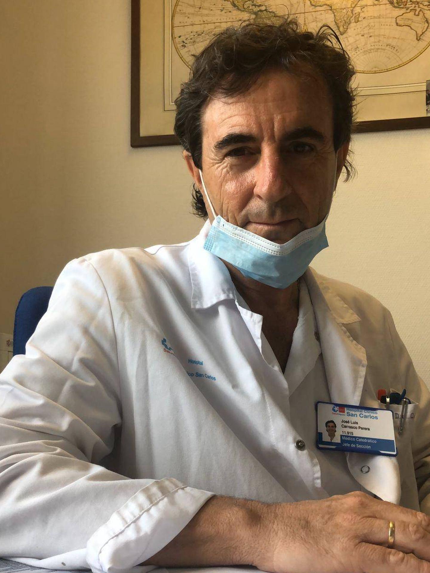 El doctor José Luis Carrasco.