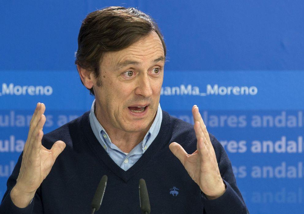 Foto: El nuevo portavoz del Grupo Parlamentario Popular, Rafael Hernando. (EFE)