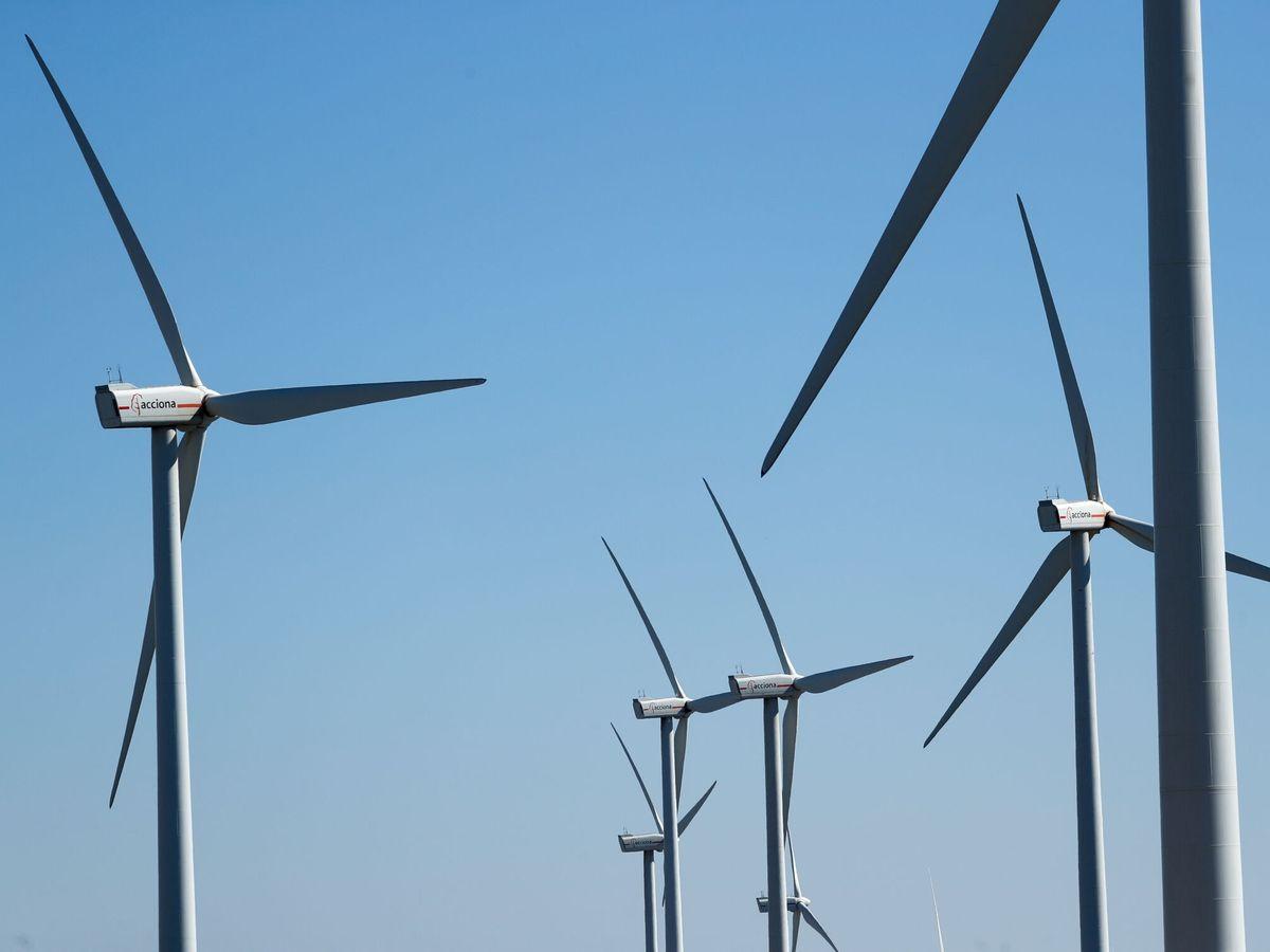Foto: Turbinas de Acciona Energía. (Reuters)