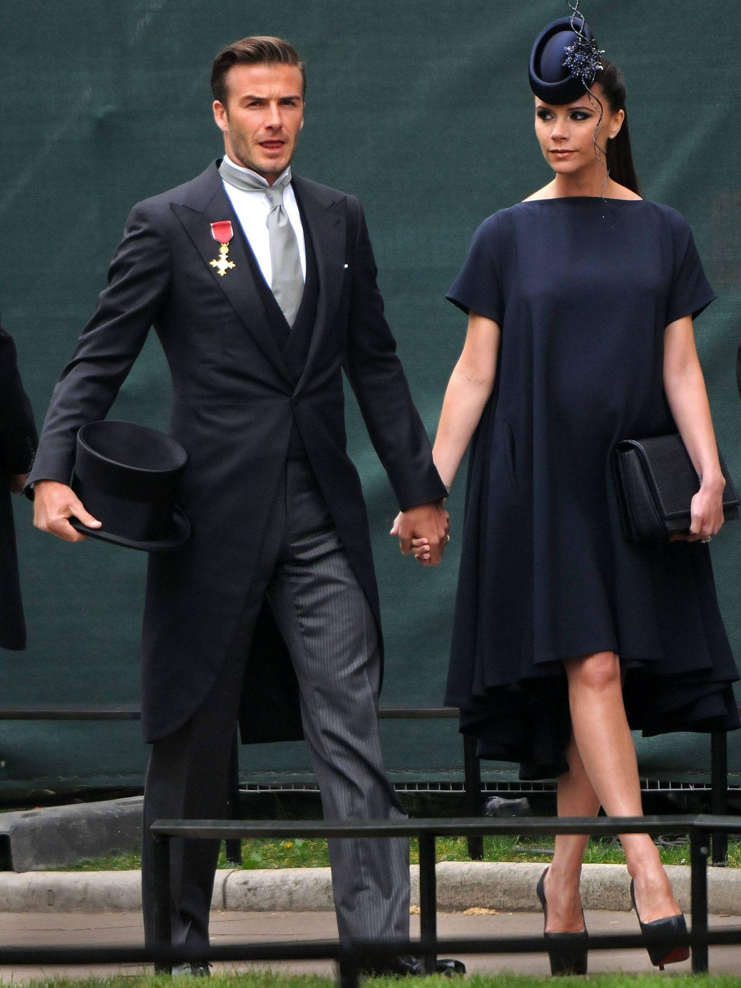 David y Victoria Beckham. (Getty)