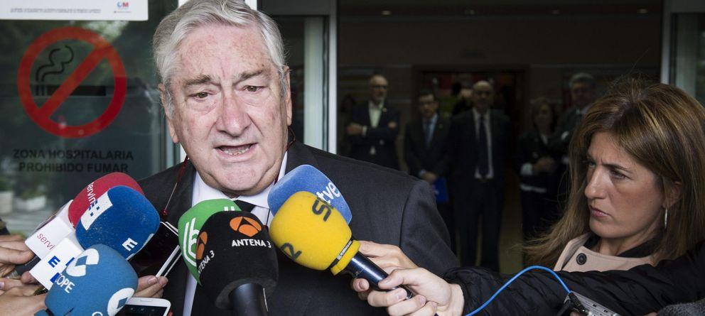 Foto: Javier Rodríguez, consejero de Sanidad de la Comunidad de Madrid. (EFE).