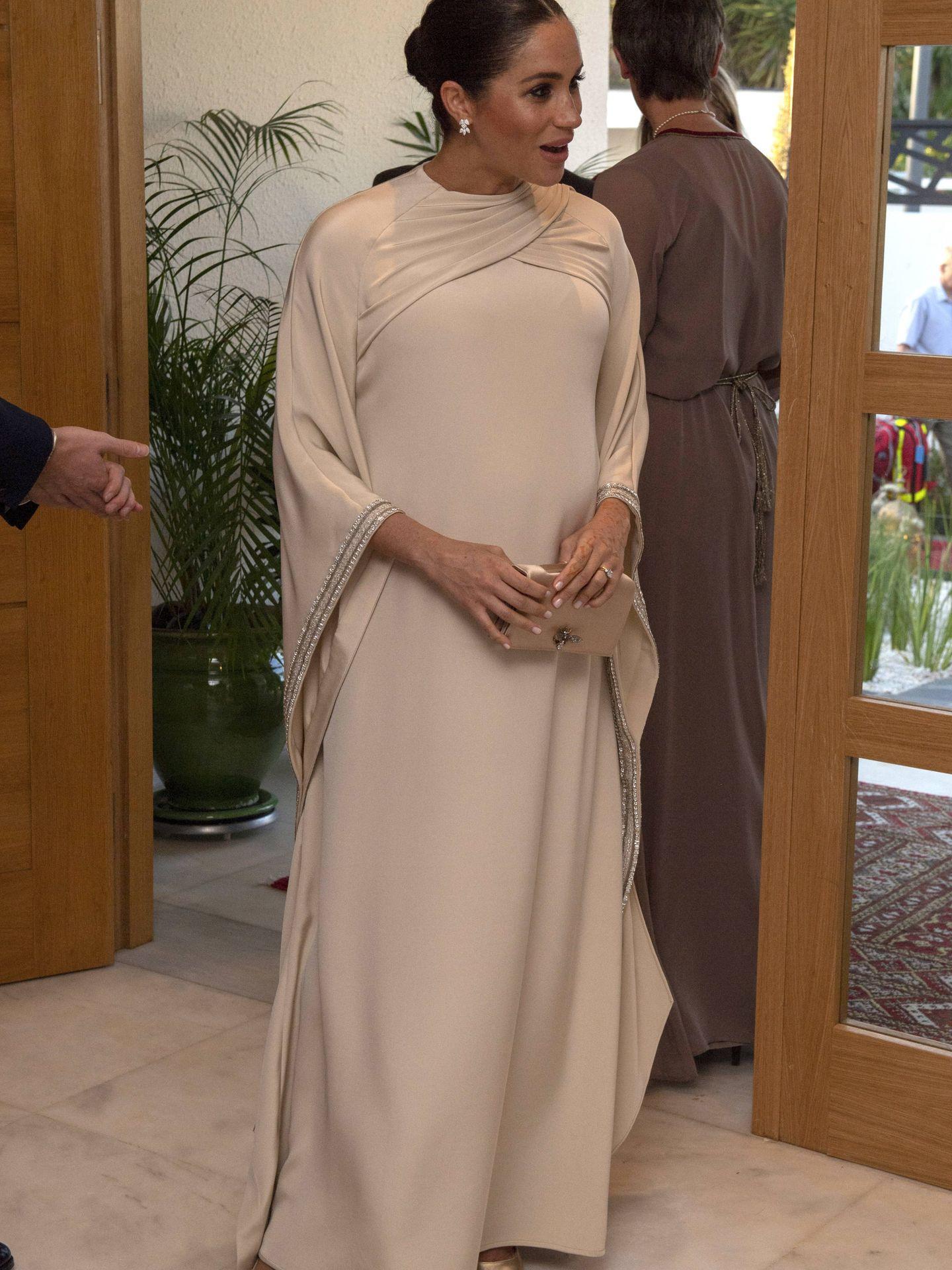 Meghan Markle, vestida de Dior. (Getty)