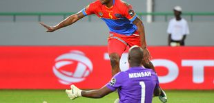 Post de Kabananga, el Pichichi de la Copa África que llegó a Europa con un contrato falso