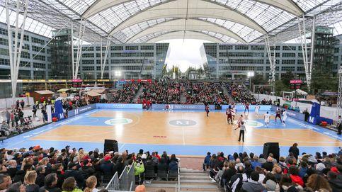 Baloncesto en un aeropuerto: así ha cerrado el Real Madrid su pretemporada