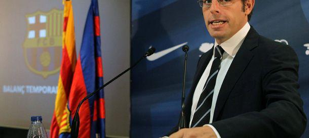 Foto: El presidente del Barcelona, Sandro Rosell, se defendió de sus negocios en Brasil.