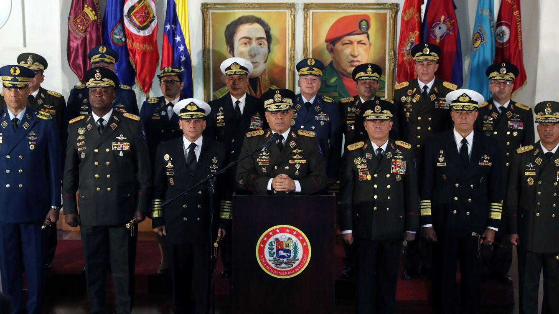 Foto: Ministro de Defensa venezolano, Vladimir Padrino, reprocha proclamación Juan Guaidó.(EFE)