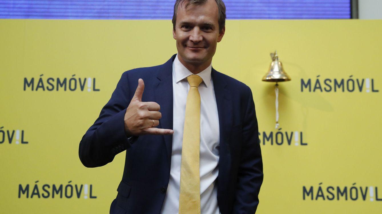 La cúpula de MásMóvil consuma su pelotazo bursátil con la venta del 2,4% de la compañía