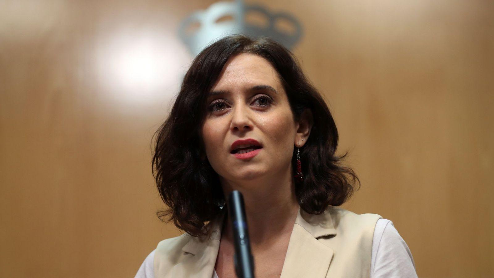 Foto: Isabel Díaz Ayuso, candidata del PP a la Comunidad de Madrid. (EFE)