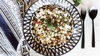 Sepia salteada con habas, las legumbres también son para el verano
