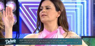 Post de Pepi Valladares cuenta en el 'Deluxe' un secreto de Chelo que salpica a Pantoja
